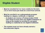 eligible student6