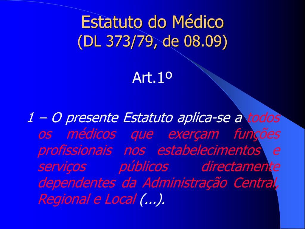 Estatuto do Médico