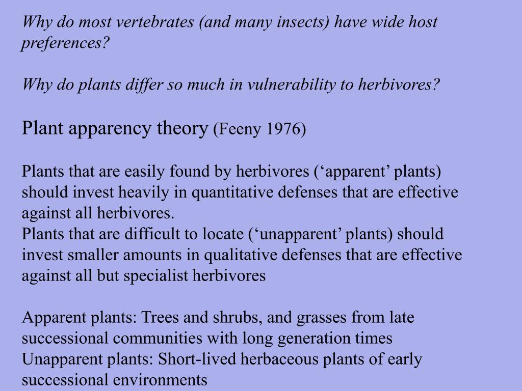 Why do most vertebrates (and many insects) have wide host preferences?