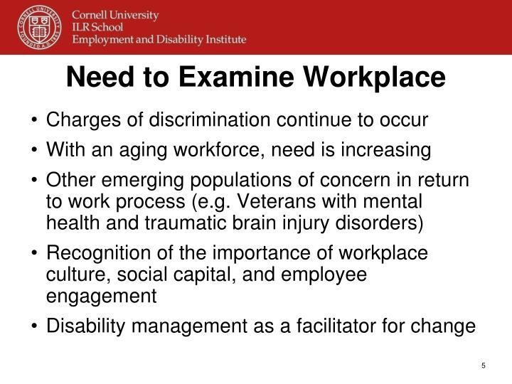 workplace discrimination simulation A performance evaluation program revealed that the most effective salespeople in a large company are sincere and energetic in their work this led the company's psychological consultants to develop a simulation that would assess the extent to which applicants for company sales positions communicate in a forthright and animated manner.