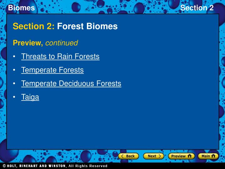 Section 2 forest biomes2