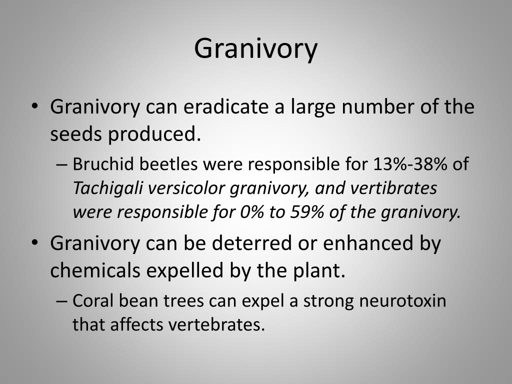 Granivory