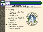 wmrc d approach