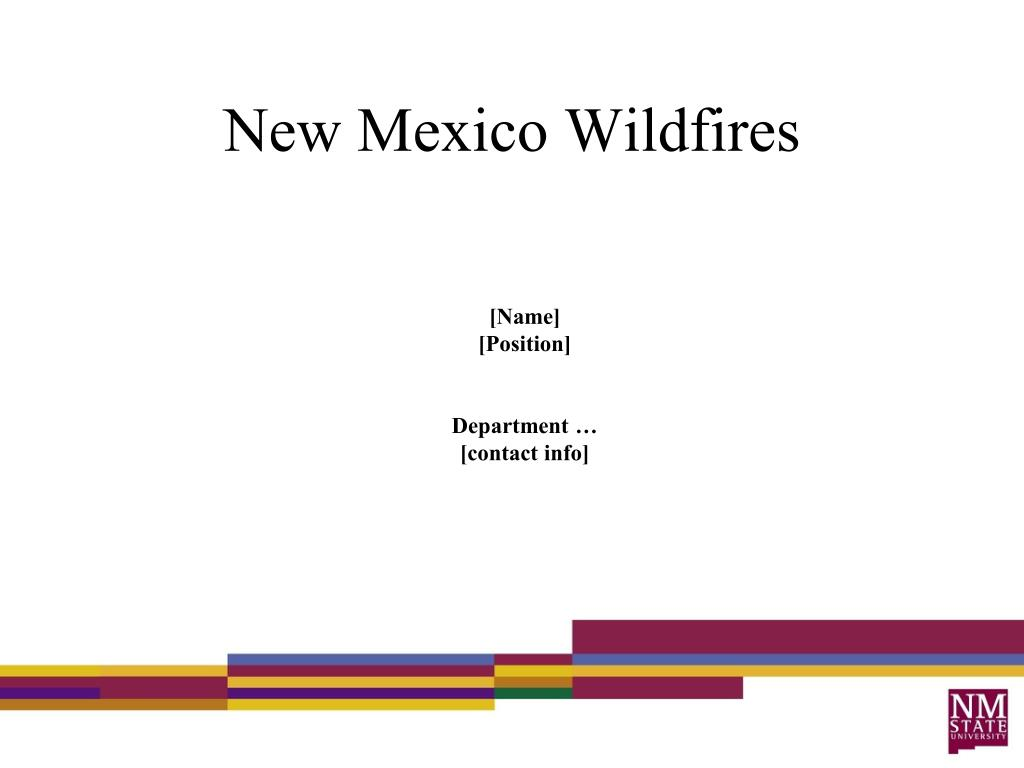 new mexico wildfires l.