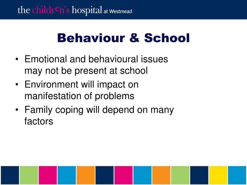 Behaviour & School