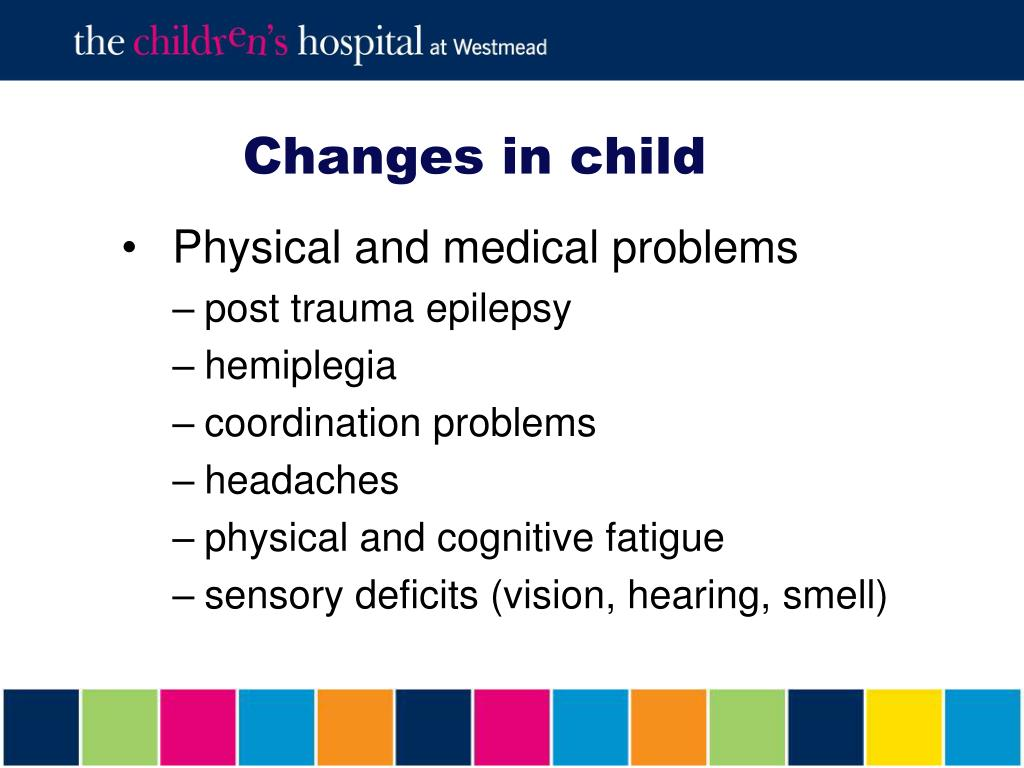 Changes in child