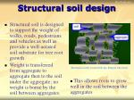 structural soil design