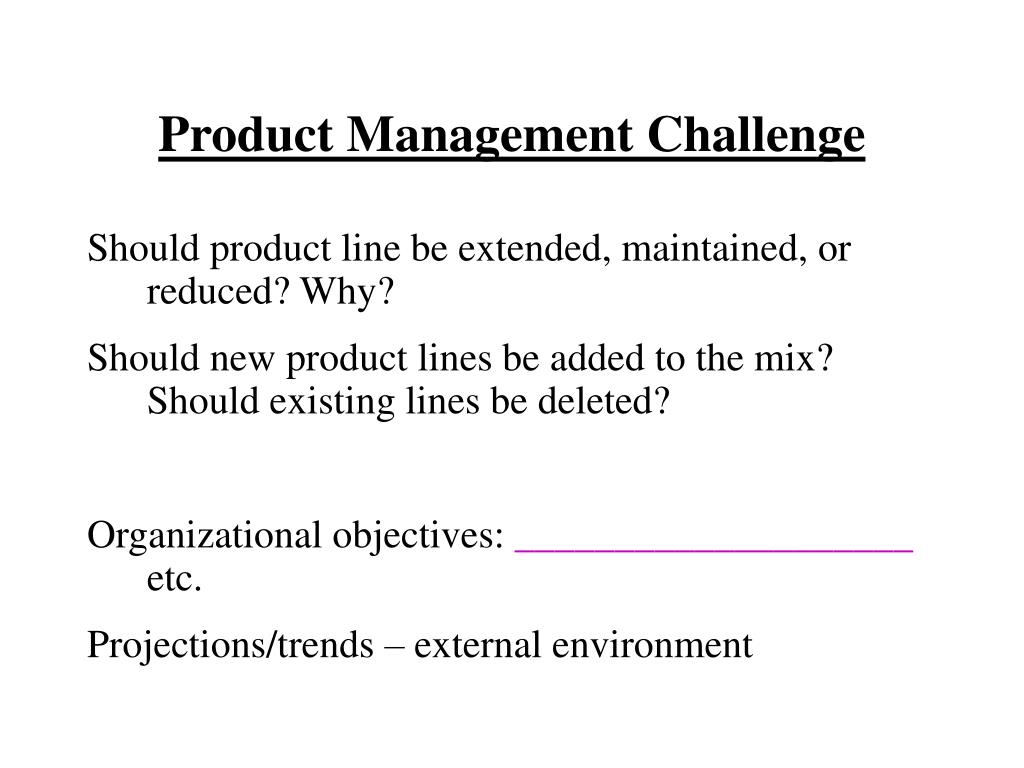 Product Management Challenge