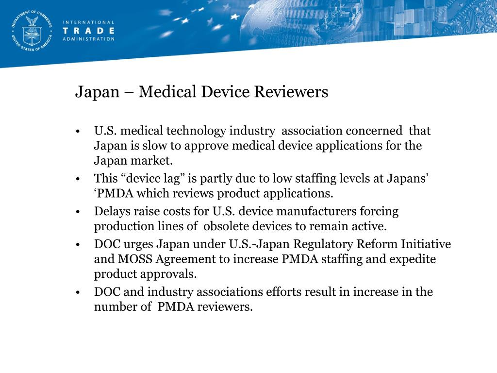 Japan – Medical Device Reviewers