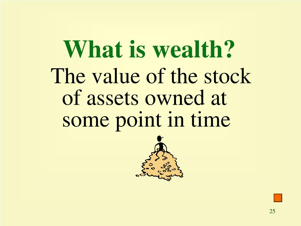 What is wealth?