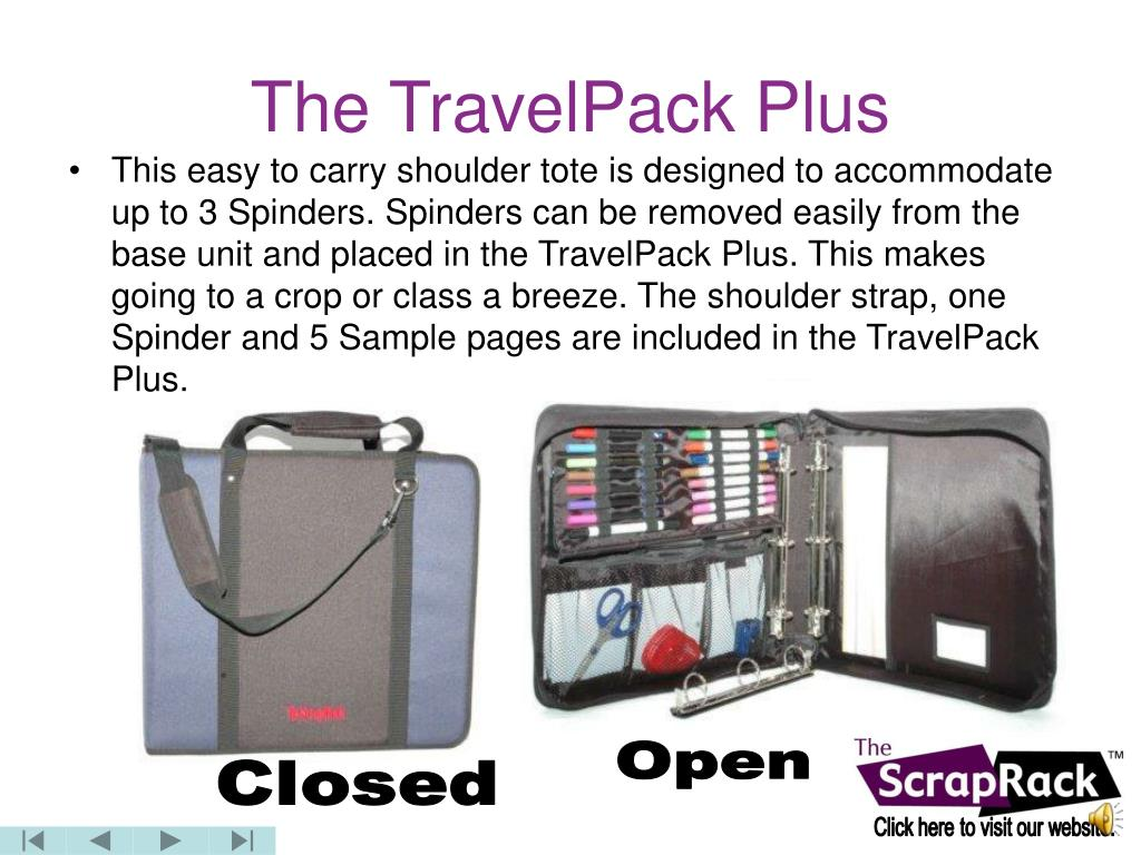 The TravelPack Plus