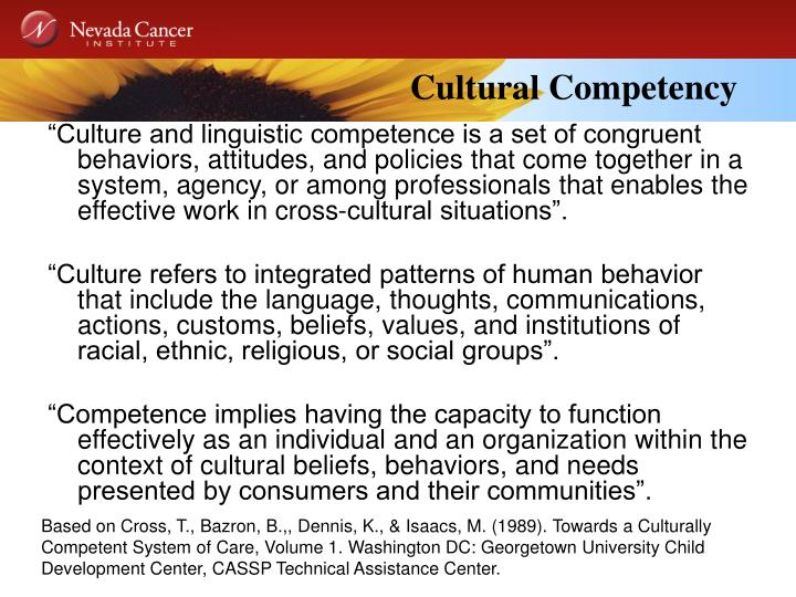Cultural Competency