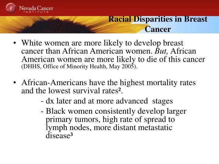 Racial Disparities in Breast Cancer