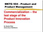 mktg 504 product and product management49