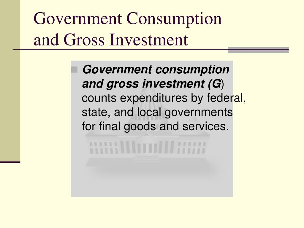 Government Consumption