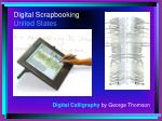 digital scrapbooking united states