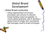 global brand development20