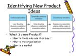identifying new product ideas