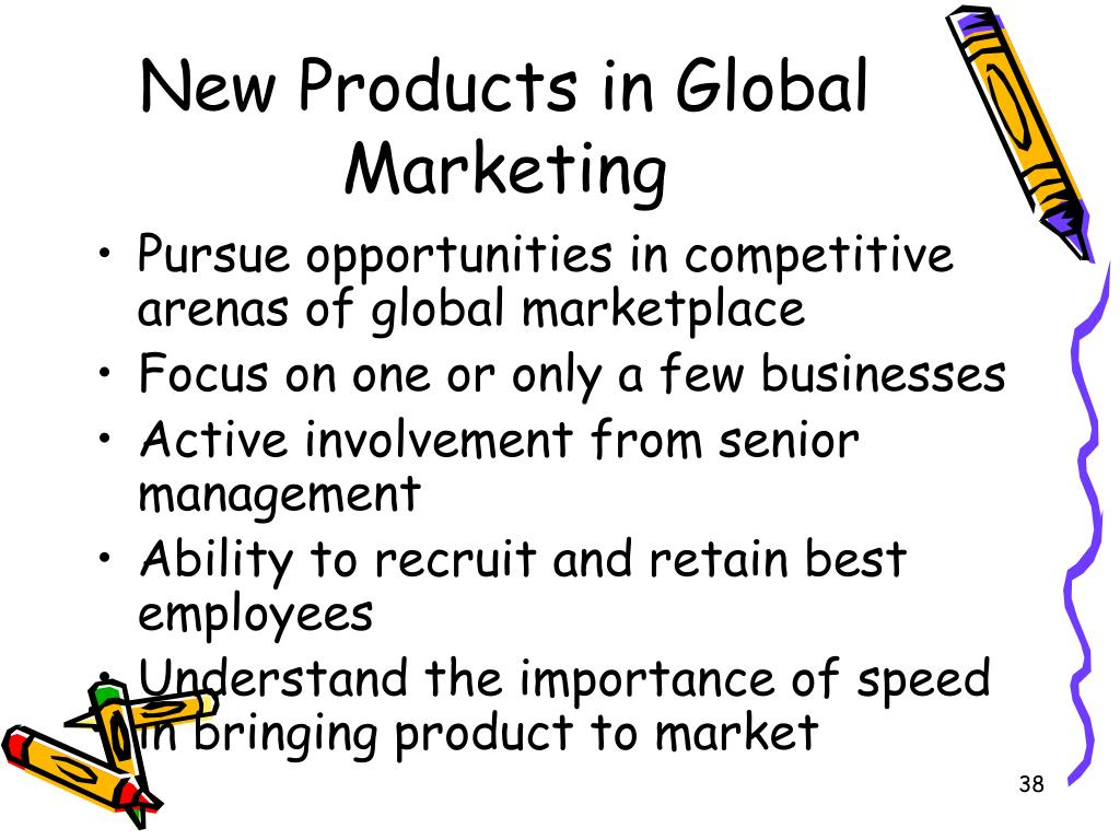 New Products in Global Marketing