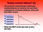 really market failure 2