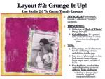 layout 2 grunge it up use studio 2 0 to create trendy layouts