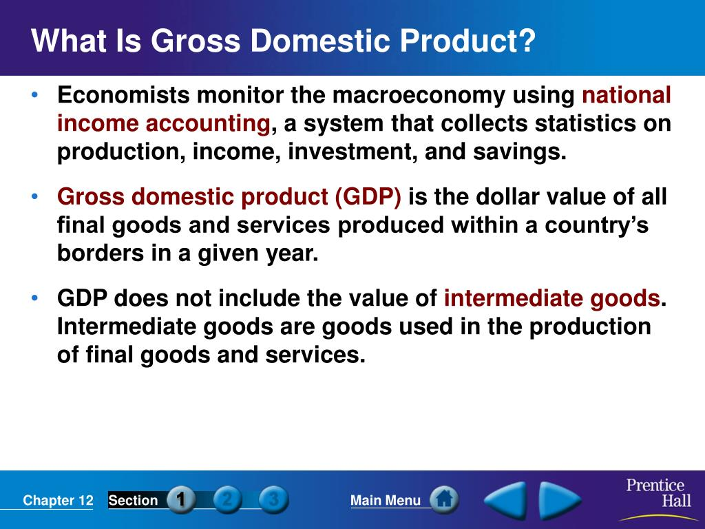 What Is Gross Domestic Product?