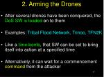 2 arming the drones