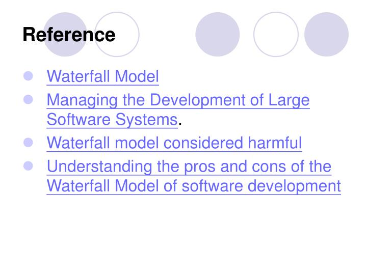 Ppt waterfall model powerpoint presentation id 769234 for Advantages and disadvantages of waterfall model