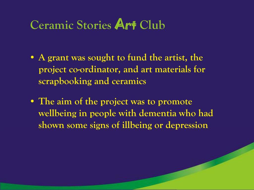 Ceramic Stories