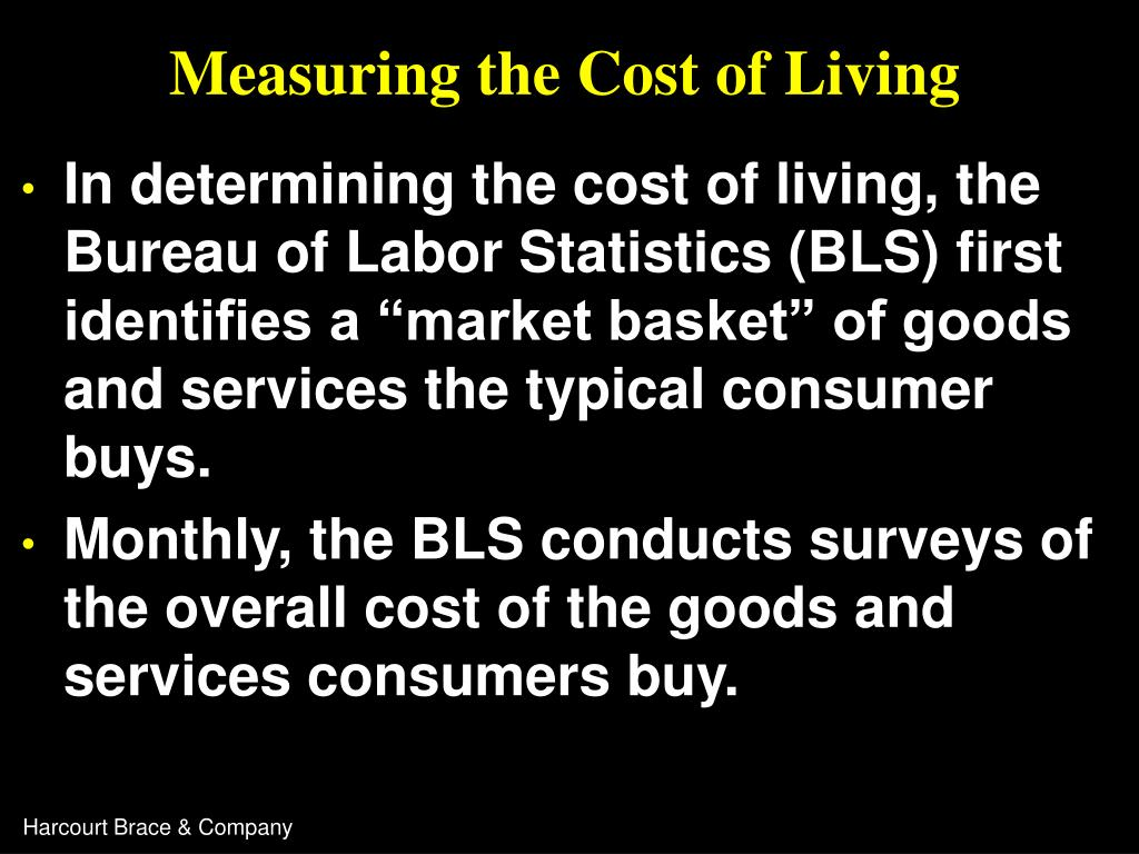 Measuring the Cost of Living