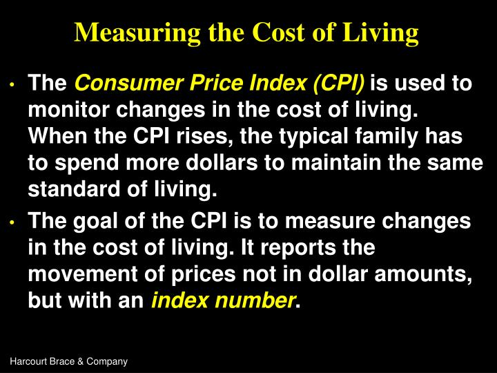 Measuring the cost of living3