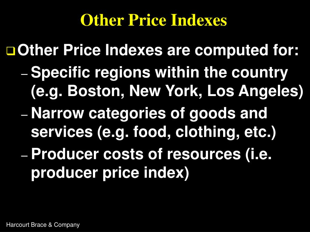 Other Price Indexes