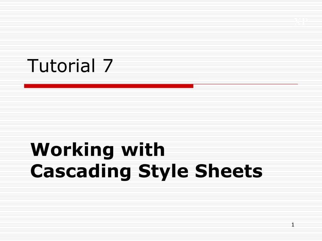 tutorial 7 l.