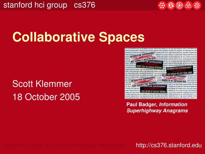 collaborative spaces n.