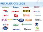 retailer college