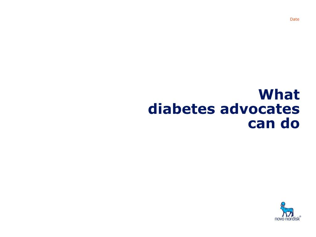 what diabetes advocates can do l.