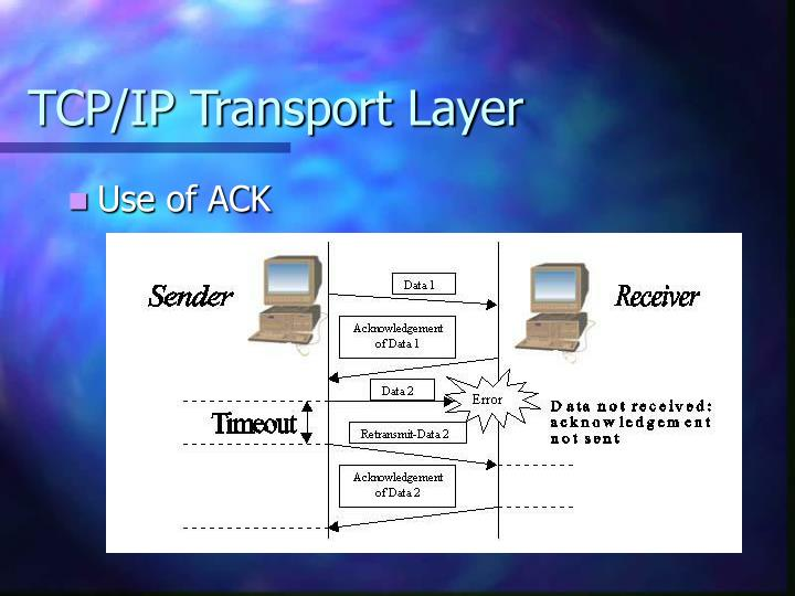 TCP/IP Transport Layer