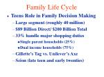 family life cycle33