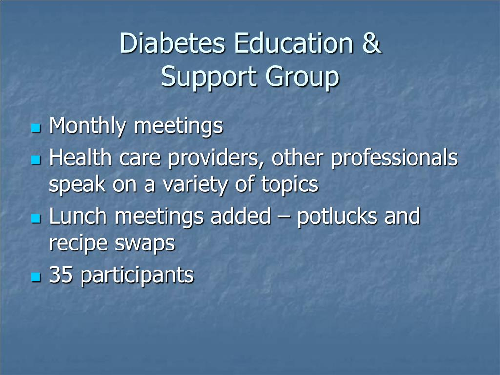 Diabetes Education &