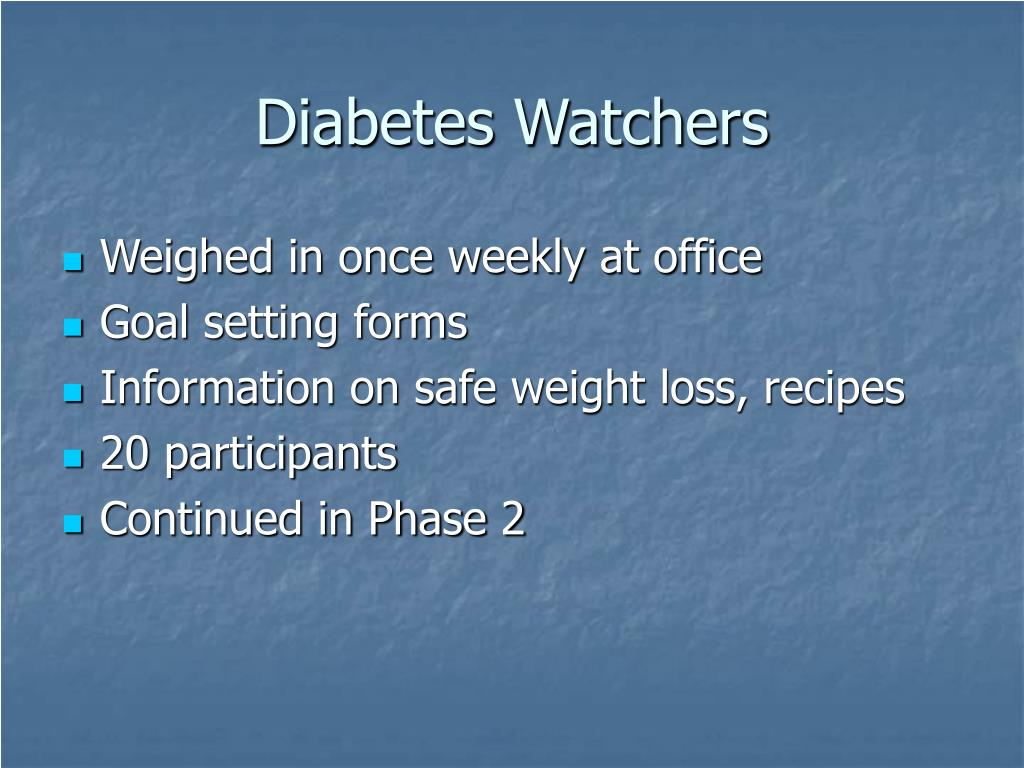 Diabetes Watchers