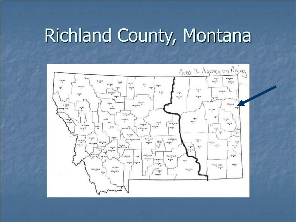 Richland County, Montana