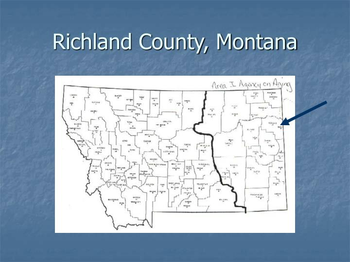 Richland county montana