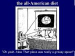 the all american diet