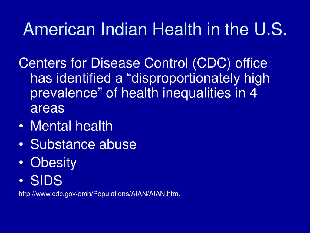American Indian Health in the U.S.