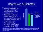 depression diabetes