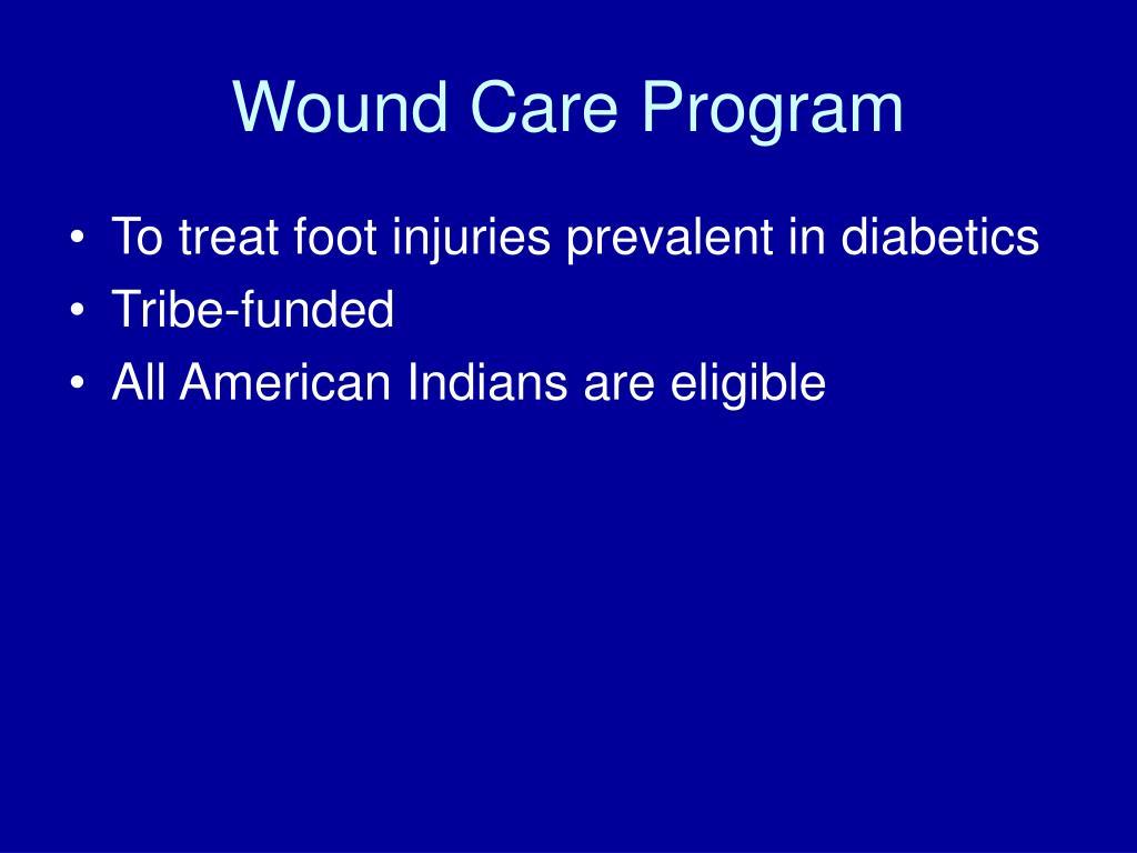 Wound Care Program