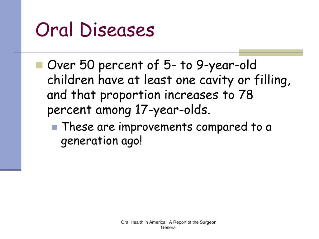 Oral Diseases
