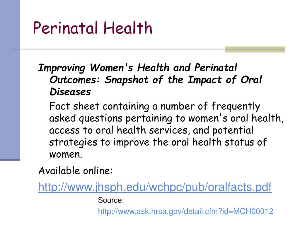 Perinatal Health