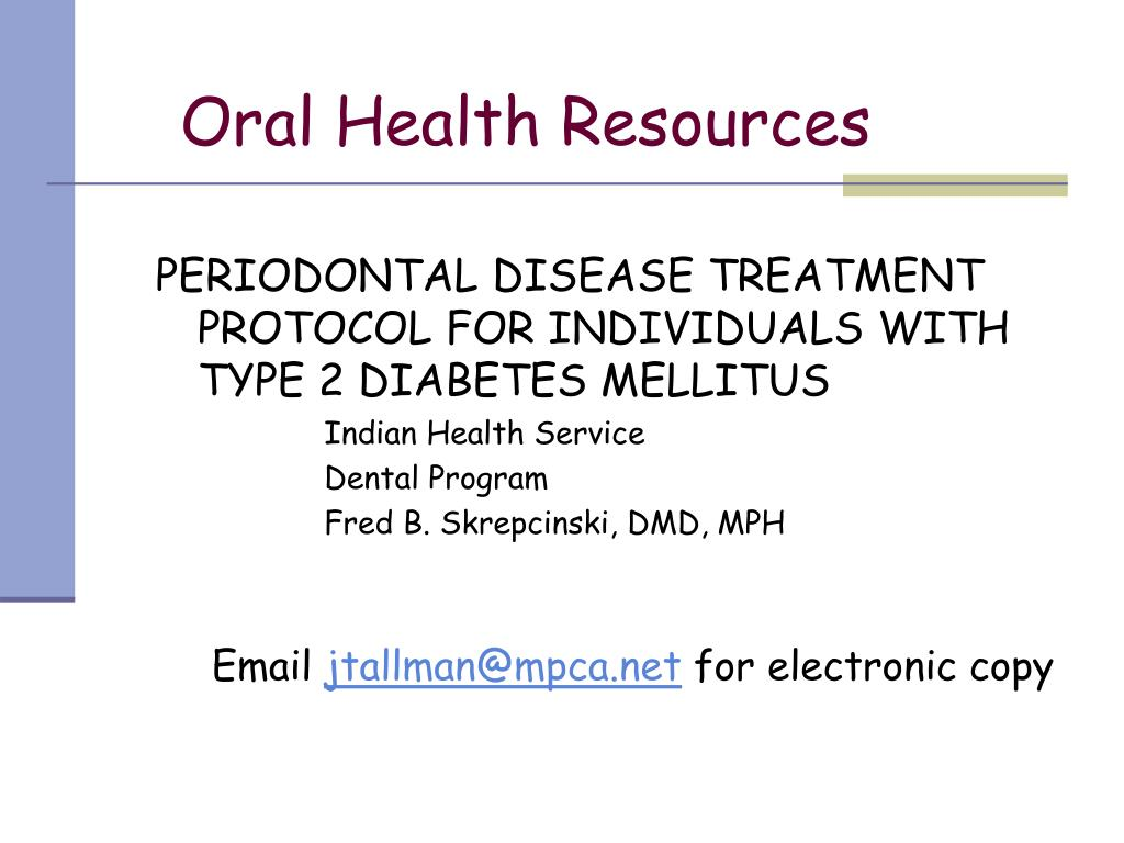 Oral Health Resources