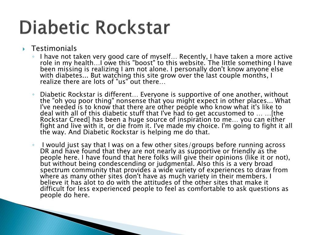 Diabetic